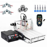 2.2KW 6040 CNC Router 3axis CNC Engraving Cutting Machine Water Cooled Spindle with 6axis handwheel WHB04B 6 CNC Manufacturer