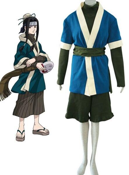 font b Naruto b font Haku Kimono Anime font b Cosplay b font Costume