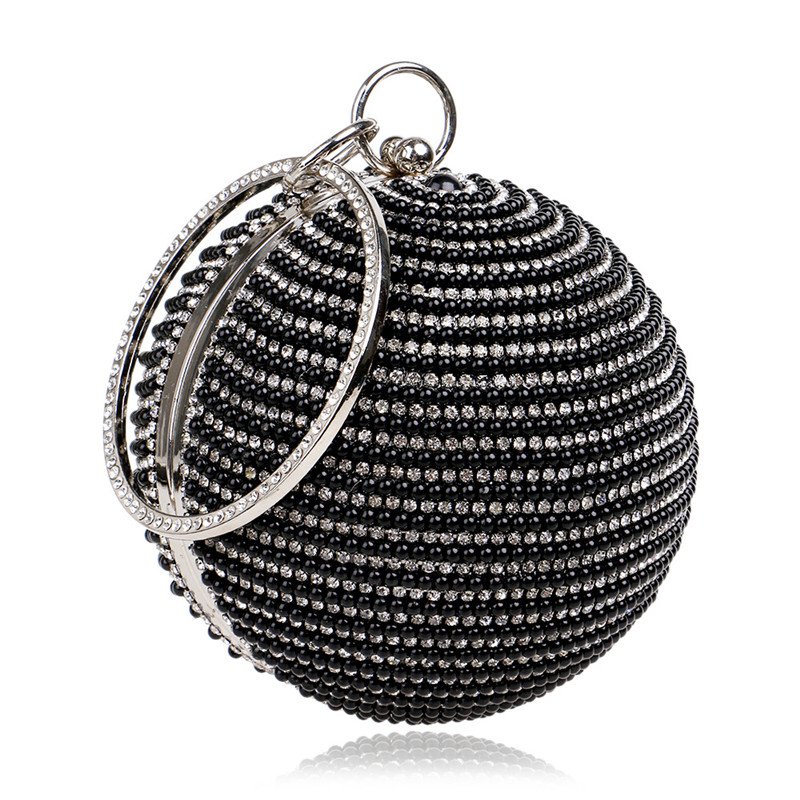bolsa de noiva casamento bola Material : Shinning Sequine Alloy Diamond