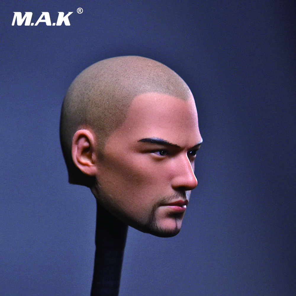 1/6 Scale Male Head Sculpt Tang Monk Asura Saint Bald Beard Version for 12 inches Man Action Figure 12 inch 1 6 scale male head sculpt for 12 men action figure toys collections