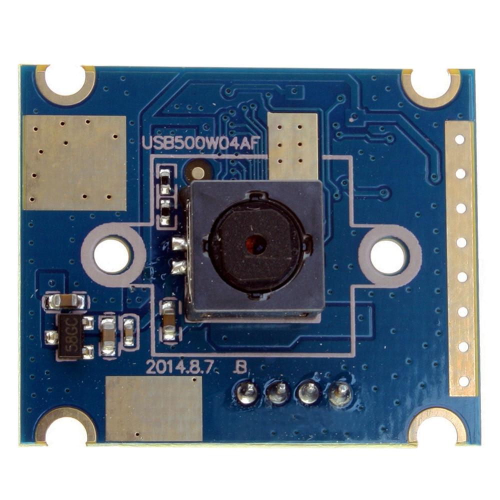 New 5 megapixel 25 30mm mini 60 degree autofocus mini cmos usb Camera Module 5mp for