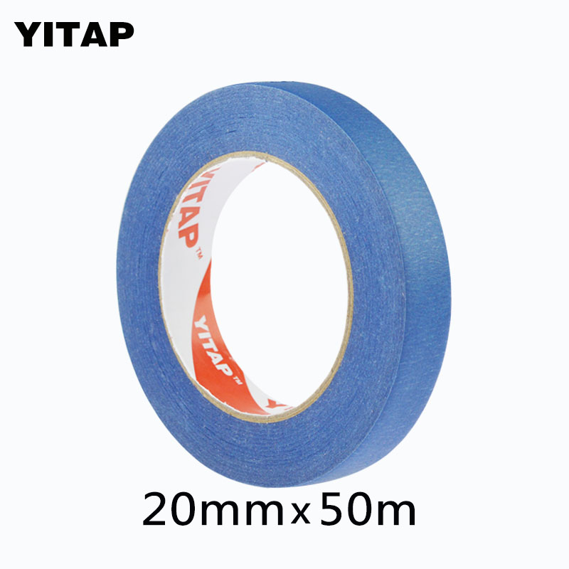 UV resist Blue Color Painters Masking Tape For 3D Printer Heat Tape Resistant High Temperature Polyimide Adhesive Tape 205mm width blue masking tape high temperature resistance masking tape for 3d printer makerbot thickness 0 13mm