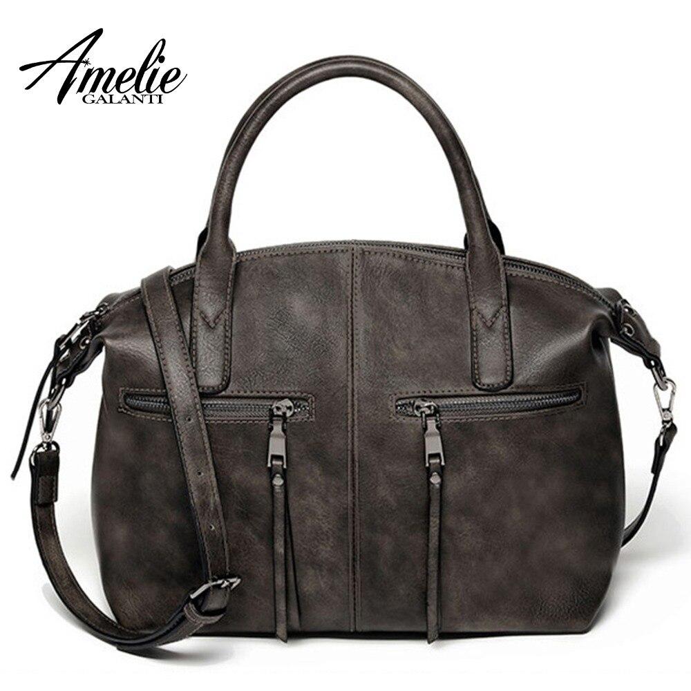 ec7d83257daa Amelie galanti роскошные сумки для женщин дизайнер повседневное Tote Женский  Бренд подушки Детские сумка женская через