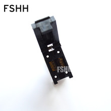 цена на SOP16 to DIP8 programmer adapter SOIC16 SOP16 FP16 Clamshell  test socket Pitch=1.27mm width=4.5mm