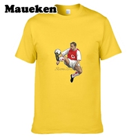 Men Highbury Legend Dennis Bergkamp 10 Netherlands Holland Ice Prince The Iceman T Shirt T Shirt