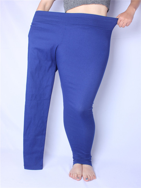 81ba412a3992d High Stretch Denim Leggings Women Spring Pants Plus Size Jeans ...