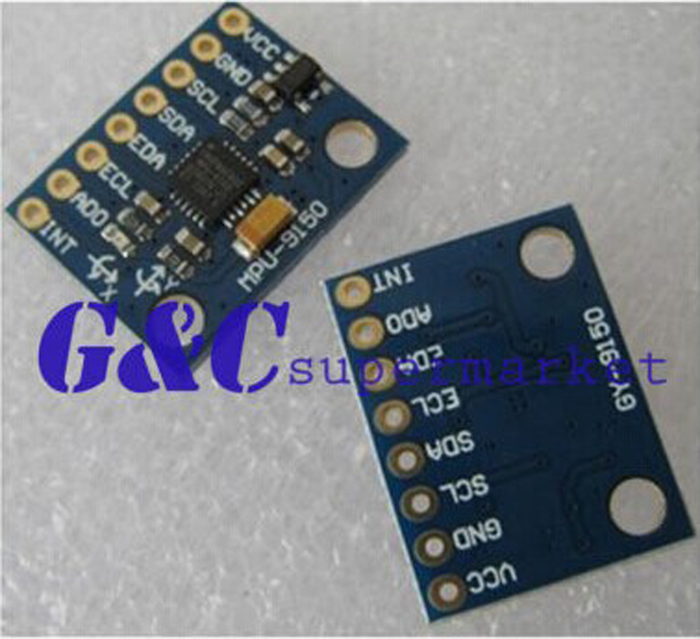 GY 9DOF MPU-9150 3 Axis Gyroscope+Accelerometer+magnec field GY-9150