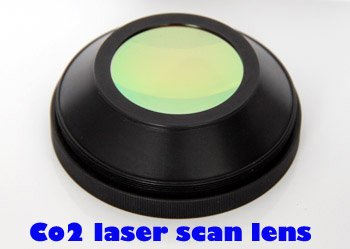 48 мм США CVD znse co2 лазерный сканер объектива, 400x400 мм сканирования, фокус 591,7 мм