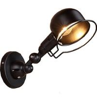 LOFT Ameican Style Wall Lamp Iron Retro Creative Mechanical arm Lighting For Bedroom Living Room Home Restaurant E14 bulb