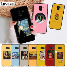 Lavaza Great art aesthetic van Gogh Silicone Case for Samsung A3 A5 A6 Plus A7 A8 A9 A10 A30 A40 A50 A70 J6 A10S A30S A50S(China)