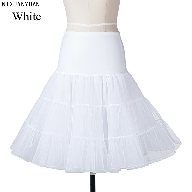 Wedding Accessories Petticoats Jupon Mariage Stock A Line Black White Trailing Petticoat High Quality Underskirt Elegant Enaguas Para El Vestido De Boda