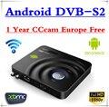 AZ-YST 1 Año CCcam Europa representan Francia REINO UNIDO Alemania España Irlanda apoyo IPTV Android DVB-S2 DVB S2 Caja