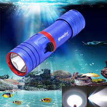 SKYWOLFEYE DV04 LED Waterproof Flashlight Portable 850LM XM-L2 U2 LED Torch Light Scuba 50m Underwater Diving Lamp new solarstorm dx4s upgraded from dx4 xm l2 u2 led diving flashlight torch brightness waterproof 100m white light led torch