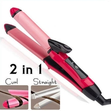2 in 1 Hair Curler Tourmaline Ceramic  Curling iron styling tools