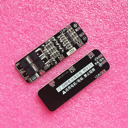 50pcs 3S 20A Li ion Lithium Battery 18650 Charger PCB BMS Protection Board 12 6V Cell
