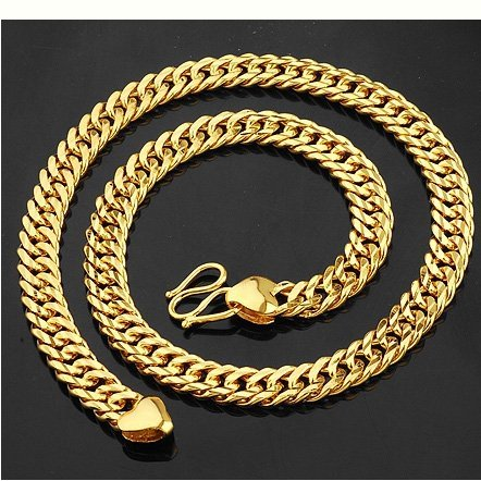 Free shipping wholesale cheap gold jewelry 18K gold jewelry set 5pcs/lot