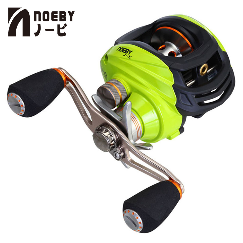 NOEBY Fishing Reels LEISURE GA1000 Right Left Hand 10 1 Ball Bearing Baitcast Reel Gear Ratio