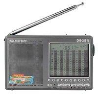 DEGEN DE1103 Đài Phát Thanh FM SW MW LW SSB Radio Kỹ Thuật Số Receiver Nhiều Băng Đài Phát Thanh DSP Ăng-ten Bên Ngoài Thế Giới Nhạc Receiver Y4162H