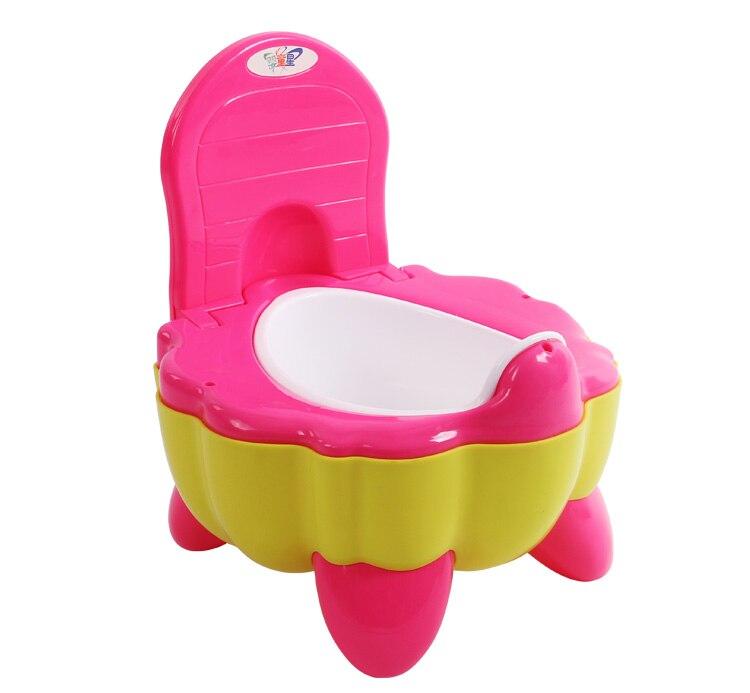 Baby Potty Training Toilet Plastic Non-slip Kids Toilet Seat Foldable Protable Travel Potty Chair Infant Children Potty Trainer