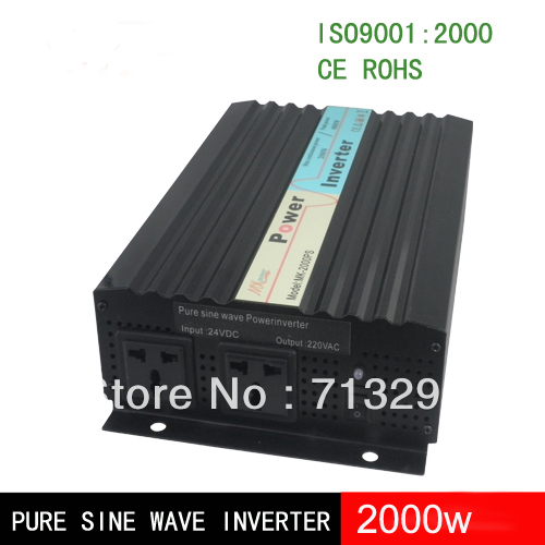 <font><b>2000w</b></font> <font><b>12v</b></font> / 24 v / 48v <font><b>pure</b></font> <font><b>sine</b></font> <font><b>wave</b></font> <font><b>inverter</b></font> off grid <font><b>inverter</b></font> with CE ,ROHS image