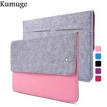 11 13 14 15,4 15,6 модная шерстяная фетровая сумка для ноутбука, чехол для Macbook/lenovo/hp/Dell, чехол для ноутбука Macbook Air 13