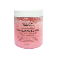 Himalayan Bath Salt Firming Body Massage Exfoliating Scrub Cream Nourishing Moisture Whitening Skin Anti Wrinkle Repair