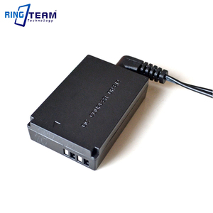 Image 4 - DC 어댑터 NP F 배터리 홀더 + DR E12 커플러 (LP E12) 캐논 EOS M/ACK E12 M2 M10 M50 M100 DSLR 카메라 용 EOS M 교체