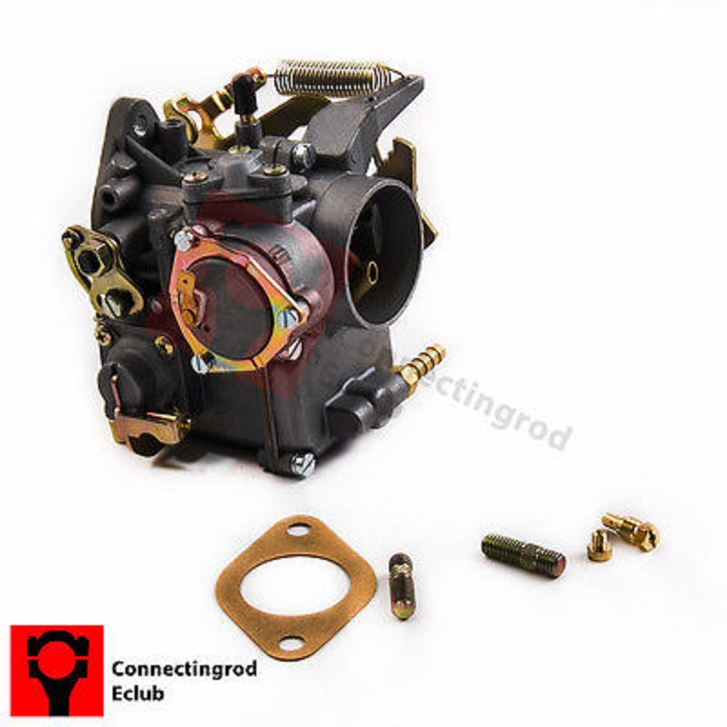 98-1289-B New Carburetor For VW 34 PICT-3 12V Electric Choke 1600CC 113129031K for Volkswagen Super Beetle fit Karmann Ghia 113129027br 01 carb carburetor fit for vw volkswagen beetle ghia 30pict engine carburettor vergaser