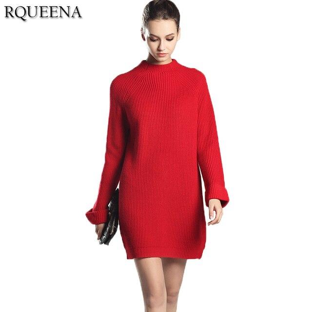 Robe rouge manche longue pas cher