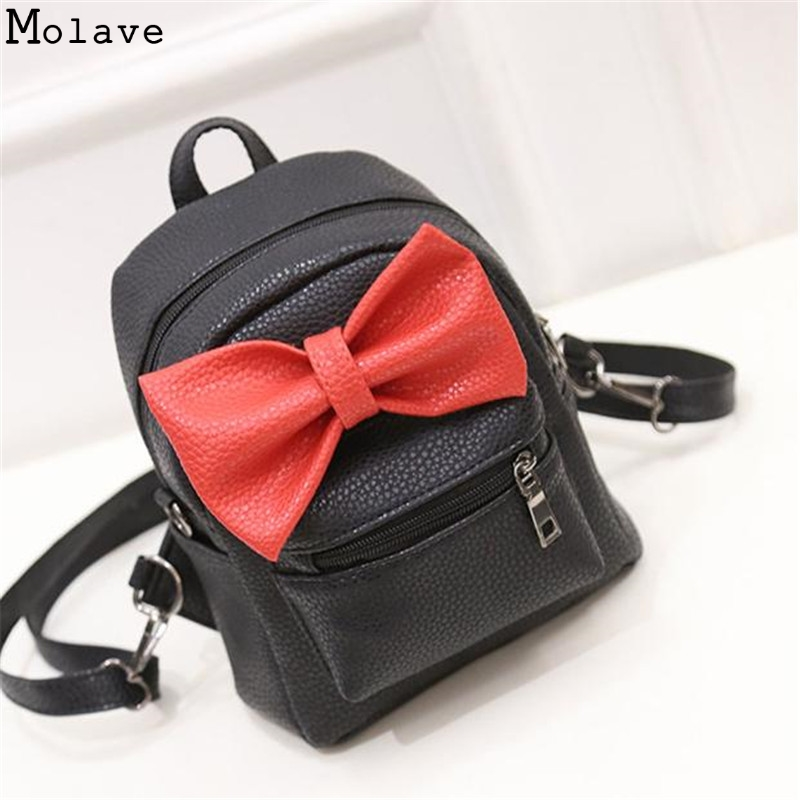 2017 New mini backpack female bag quality pu leather women backpacks Korean version of Mickey ears sweet bow Preppy Style D38JL 5pk pgi580 cli581 compatible ink cartridge for canon 580 581 suit for tr7550 tr8550 ts6150 ts6151 ts8150 ts9155 printer