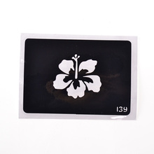 One Piece Flower Reusable Airbrush Tattoo Stencil Tatoo Template Stencils For Painting Template Stencil Tatouage T001-139 EE