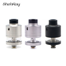 Shenray Haku Riviera RDTA Atomizer 2ml 22/24mm Single Coil Rebuildable Vape Tank For Electronic Cigarette Box Mod Mech Mods стоимость