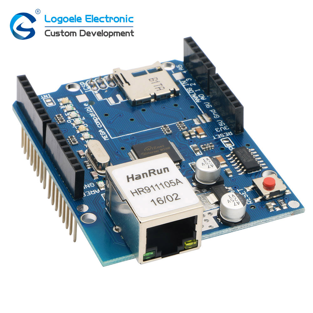 US $11 58 |IOT web server device development board w5100 module ethernet  shield-in Home Automation Modules from Consumer Electronics on  Aliexpress com