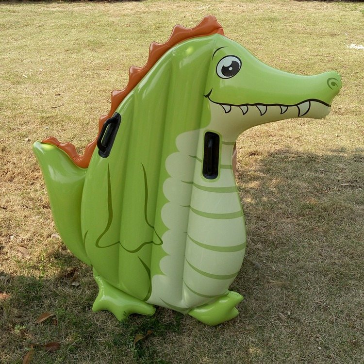Giant Penguin Crocodile Inflatable Toy Childrenu0027s Summer Beach Kidu0027s  Outdoor Toy Floating Mat Boat Toy Swimming Ring Pool Toy In Inflatable  Bouncers From ...