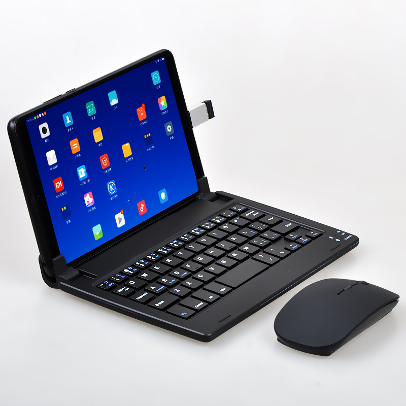 New Multi-function Bracket Keyboard For Xiaomi Mipad 4 8-inch Bluetooth Keyboard And Mouse For Mipad4