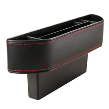 New Design Car Seat Crevice Storage font b Box b font Leather Auto Seats Gap Pockets
