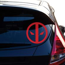 Dead Pool Decal Sticker for Car Window, Laptop, Motorcycle, Walls, Mirror and More. # 464 (4, Red)