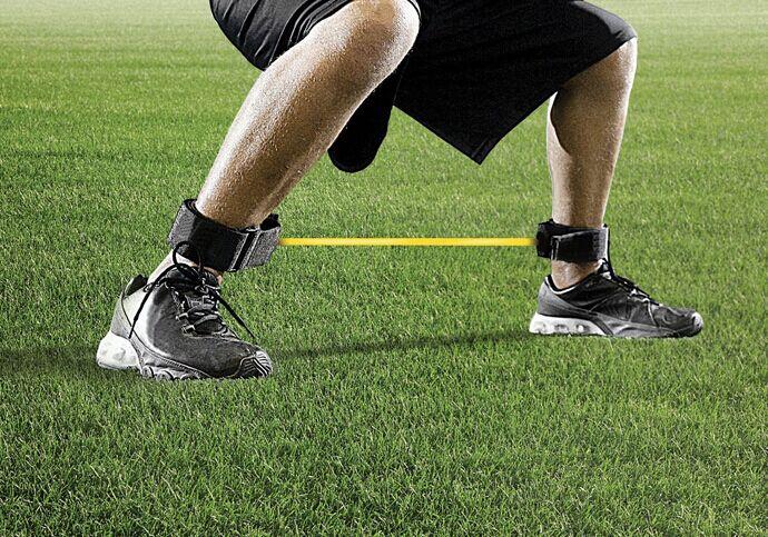 Benhastighet Styrka Motstånd Kinetiska rörband Ankelremmar - Fitness och bodybuilding - Foto 6