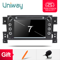 uniway ZWTL7060 2G+32G 2 din android 6.0 car dvd for suzuki grand vitara multimedia car radio stereo gps with steering wheel