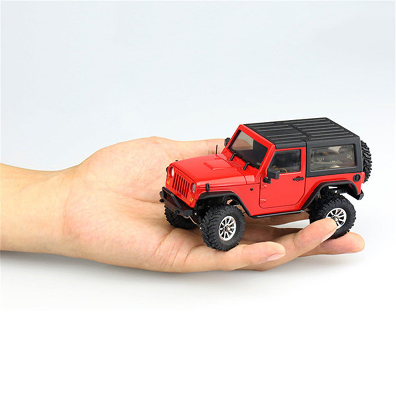 Orlandoo OH35A01 Kit Hunter 1/35 DIY Rubicon Micro Crawler without Electric Part DIY Color For Children Kids Gift(China)