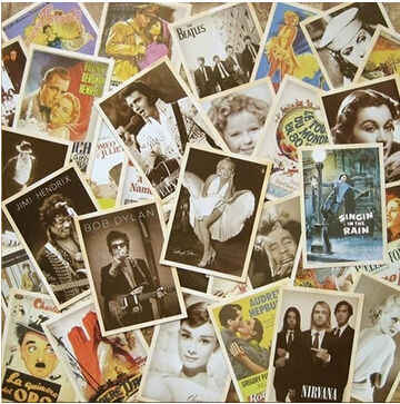 32pcs/lot Vintage style Movie stars poster Drawing post card set /postcards/Christmas Card/Gift /Greeting Cards H004