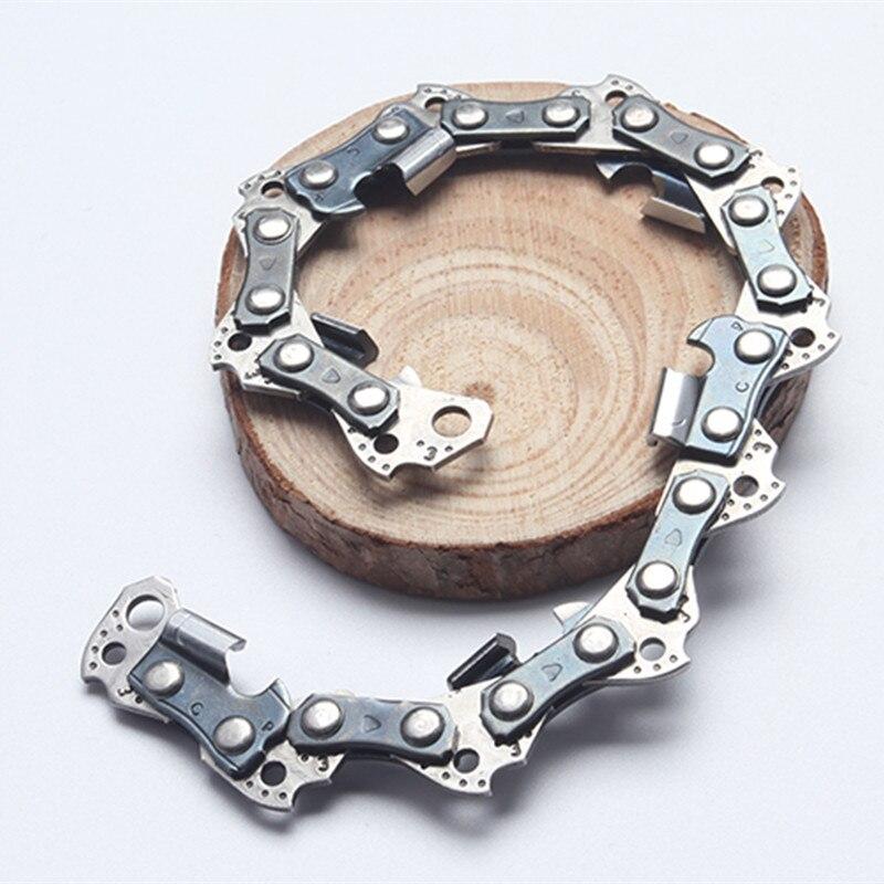 10-zoll 3/8 lp Pitch Hardware 043 gauge 39 Stick Link Halb Meißel Professionelle Sah Ketten Verwendet Auf Kettensäge Klar Und Unverwechselbar Heimwerker