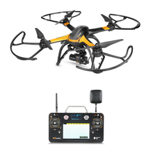 Professional 5 8G FPV Display RC drone X4 H109S 1 axis Gimbal 1080P HD Camera GPS