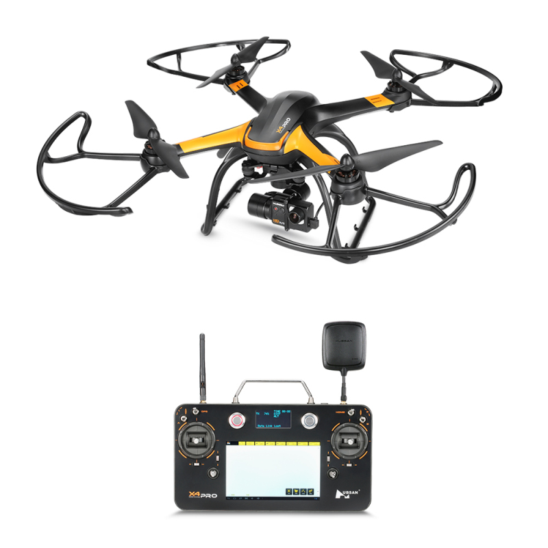 X4 Pro 5.8G FPV RC Drone 3-axis Gimbal with HD Camera