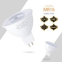 220V Light Bulb Led Spotlight GU10 LED 7W Corn Lamp 3W Bombilla Led MR16 Spot Light 2835 GU5.3 Energy Saving Bulb Home Lighting mr16 3w 3 led blue light bulb 12v