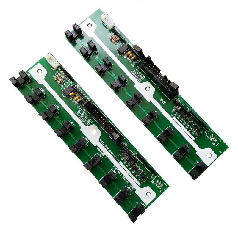 La machine de broderie d'ordinateur partie l'extension SWF de corée du sud de 9 circuits imprimés cassés de conseil électronique de rouleau d'aiguille