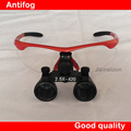 2.5X Ultra-Light High Quality Red Dental Loupes Surgical loupes Medical magnifier