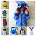 Kawaii Cartoon Anime Animal Women Men Pink Hoodie Jacket Cosplay Hoody Pokemon Pikachu Panda Stitch Umbreon Rilakkuma Bear