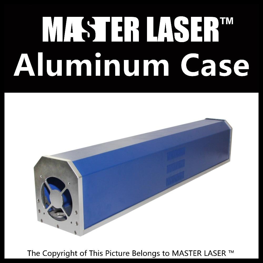 Al Case of CO2 80W 90W 100W Glass Laser Tube Marking Machine Laser Tube Holder Parts for  Laser Path Case Mounts ipg 1 mj ylp series high average power fiber laser of laser marking machine