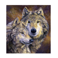 5D DIY Diamond Painting Wolf Lovers Animal Painting Embroidery Diamond Painting Cross Stitch Resin Mosaic Painting